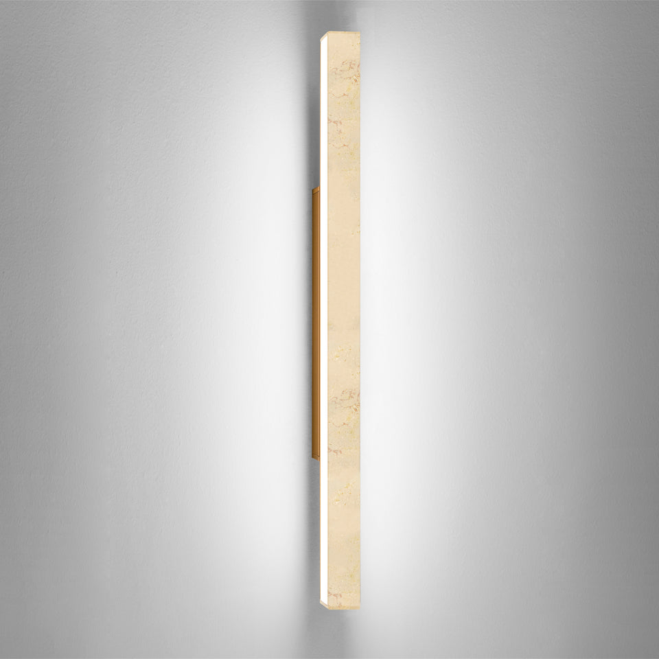 Dalia by Ledevò - Trani Stone LED Strip Wall Light