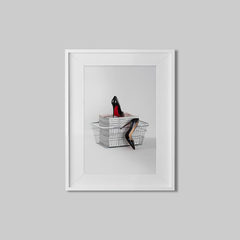 Louboutin Red Soles On Vogue I Print No.1