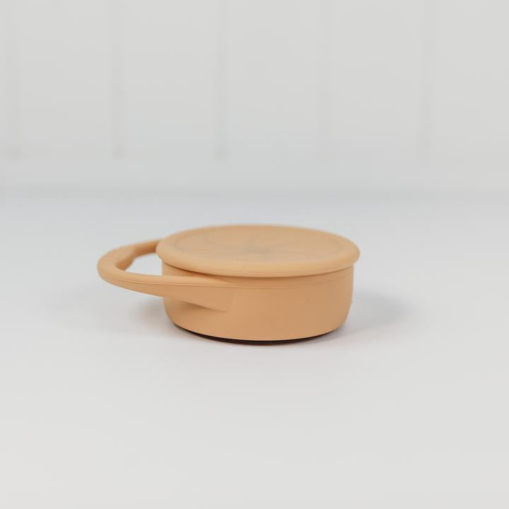 SILICONE SNACK CUP with LID Collapsible - Halo and Horns