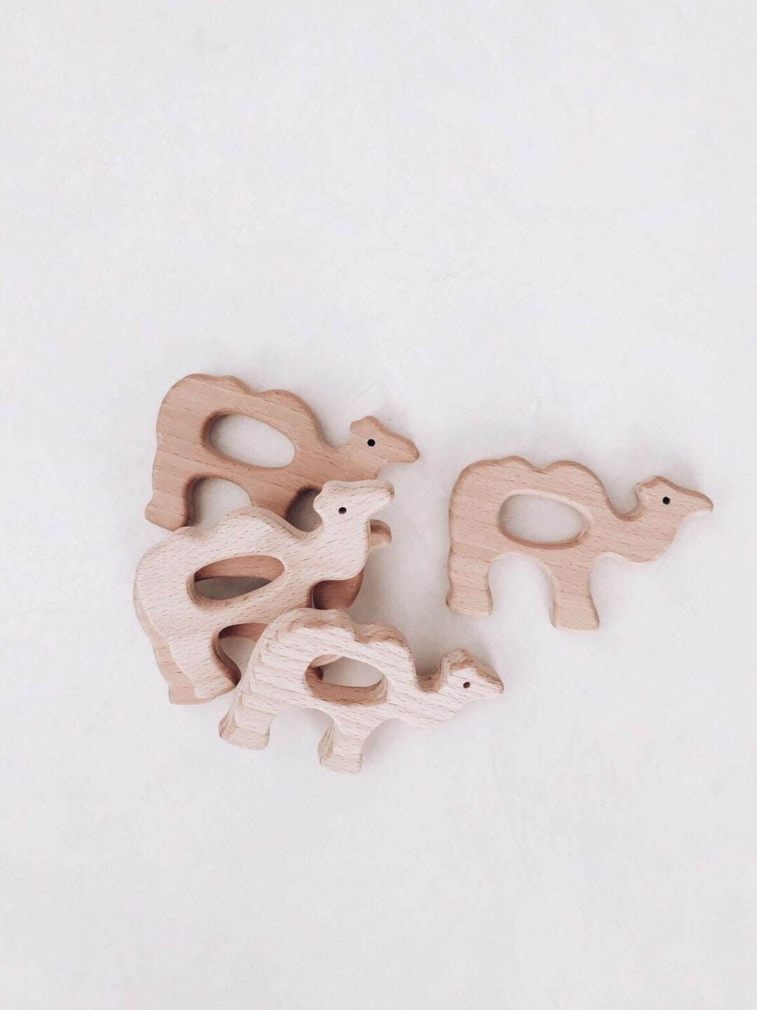 Eco Camel Teether- Lion and Lamb the Label