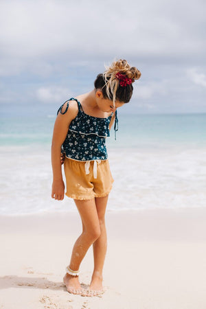 Floral Crop Top- Island State Co