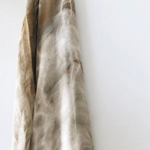 Bamboo Cotton Tie Dye Swaddle Khaki- Lion and Lamb the Label