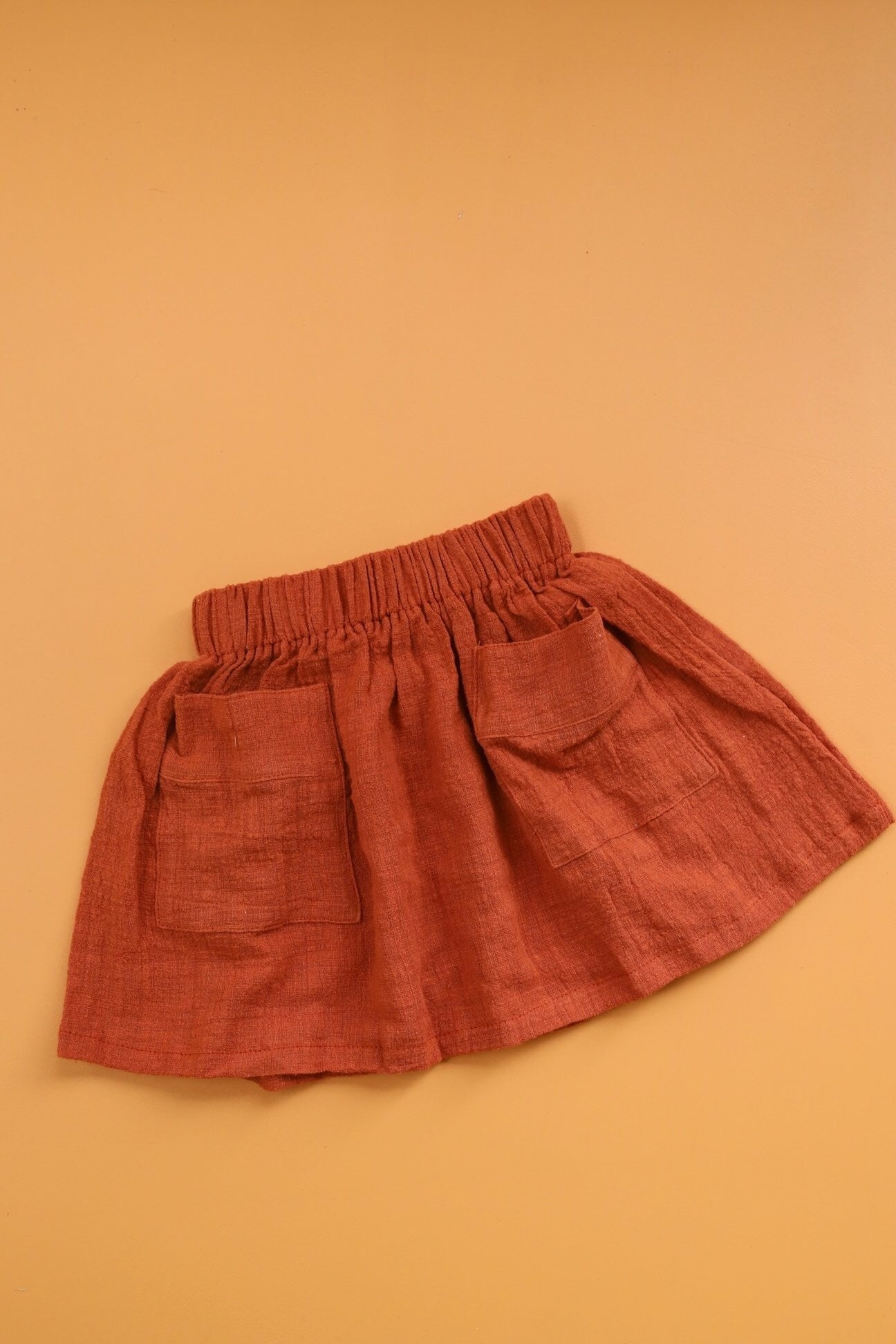 Freya Skirt Dusty Red- Luca the Label
