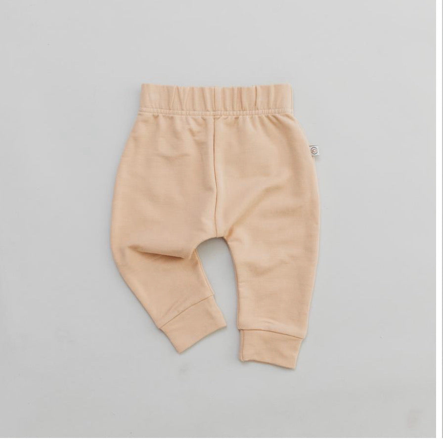 Halo and Horns - JOGGER - BAMBOO FRENCH TERRY - WHEAT