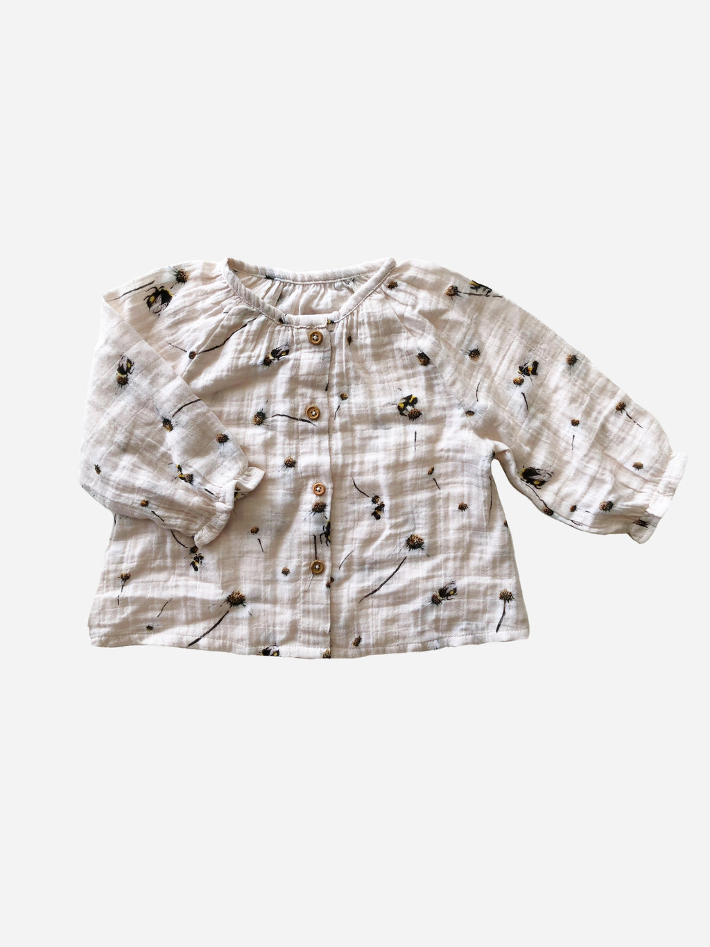 The Artist Blouse Blush Daisy- Brigitte May