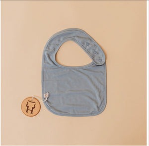 Halo and Horns BIBS - BAMBOO - ASHLEY BLUE