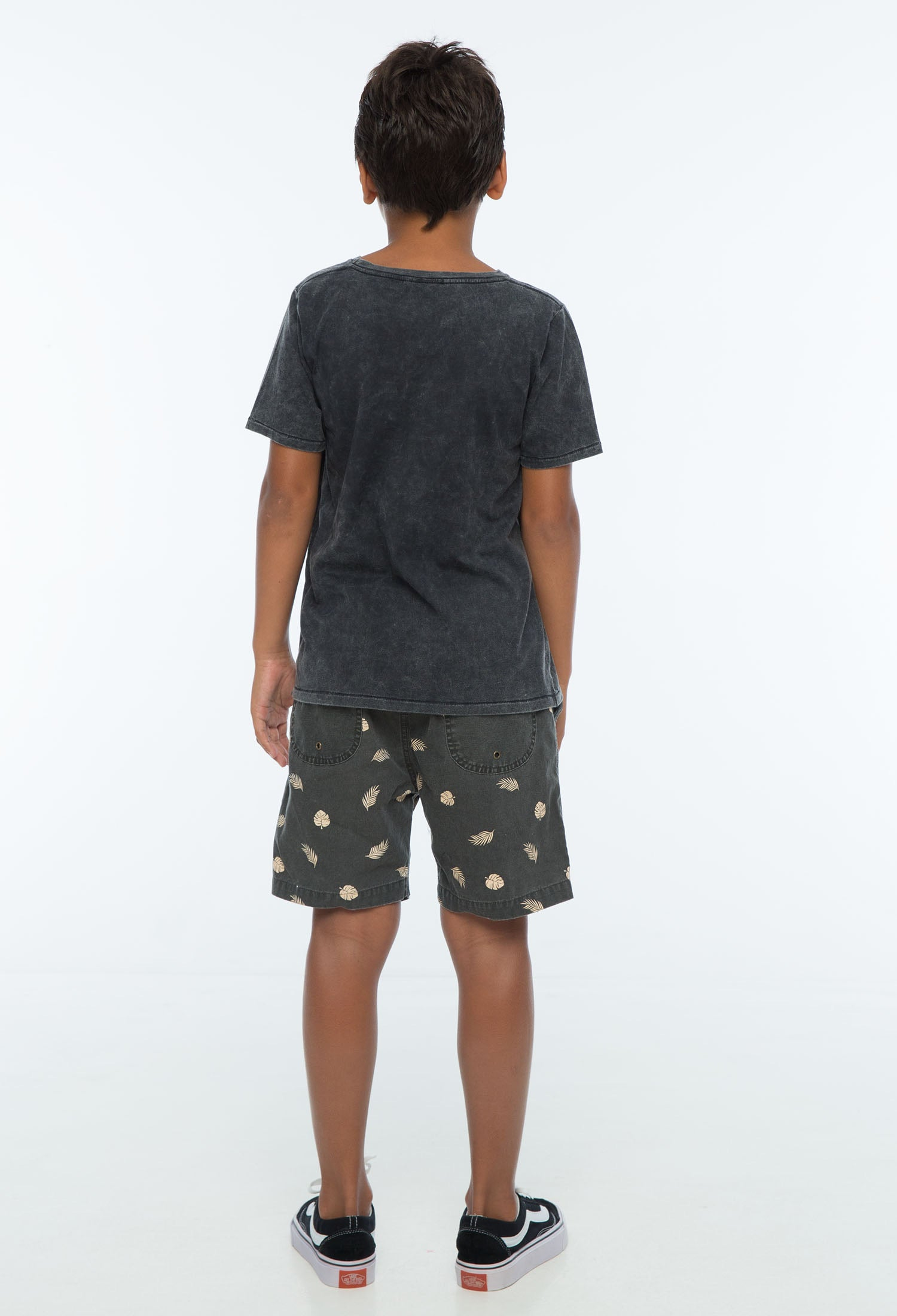Zuttion - Tropical Leafs Walk Shorts