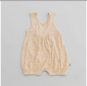 Halo and Horns - BUBBLE ROMPER - BAMBOO - VINTAGE SIROCCO