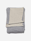 Beige - Mixed Color Cashmere Throw Blanket - Mixed Color Cashmere Throw Blanket