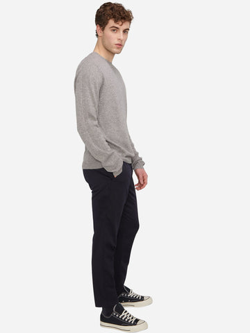 Men's Half Zip Mock-Neck Cashmere Sweater