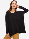Tunic Turtleneck Cashmere Sweater