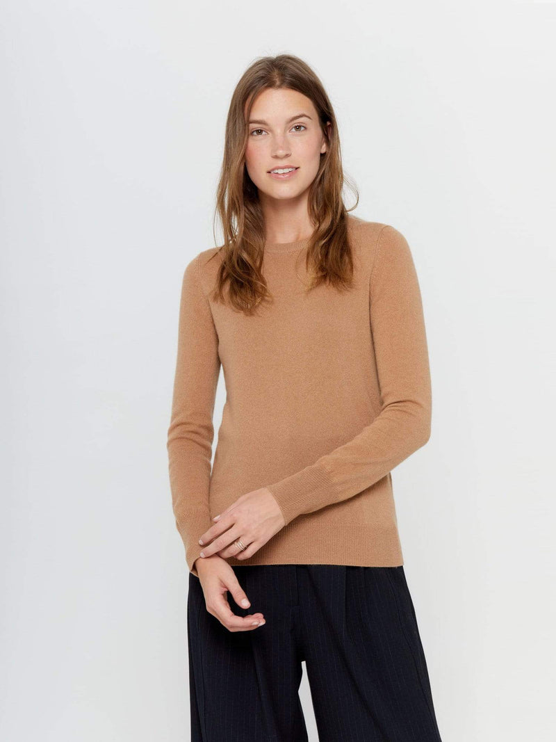 Cammello - Crew Neck Cashmere Sweater - Crew Neck Cashmere Sweater