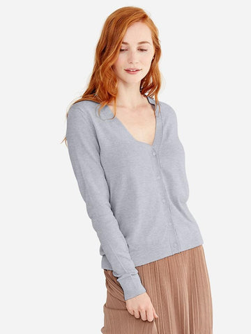 V-Neck Short Sleeve Top Sweater