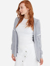 Egret - Cotton Cashmere Hooded Cardigan - Cotton Cashmere Hooded Cardigan