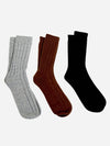 Brown - Men's 100% Pure Cashmere Socks - Men's 100% Pure Cashmere Socks