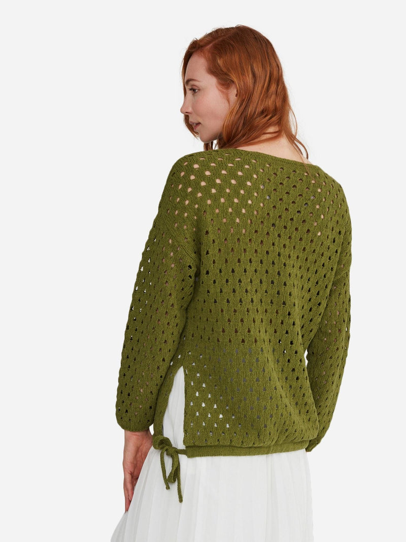 Olive - Open Stitch Sweater - Open Stitch Sweater