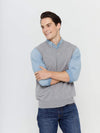 Men's Button-Down Cashmere Vest