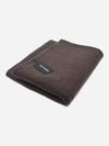 Coffee - Mixed Color Cashmere Throw Blanket - Mixed Color Cashmere Throw Blanket
