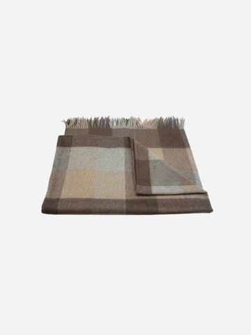 Cashmere Fringe Throw Blanket