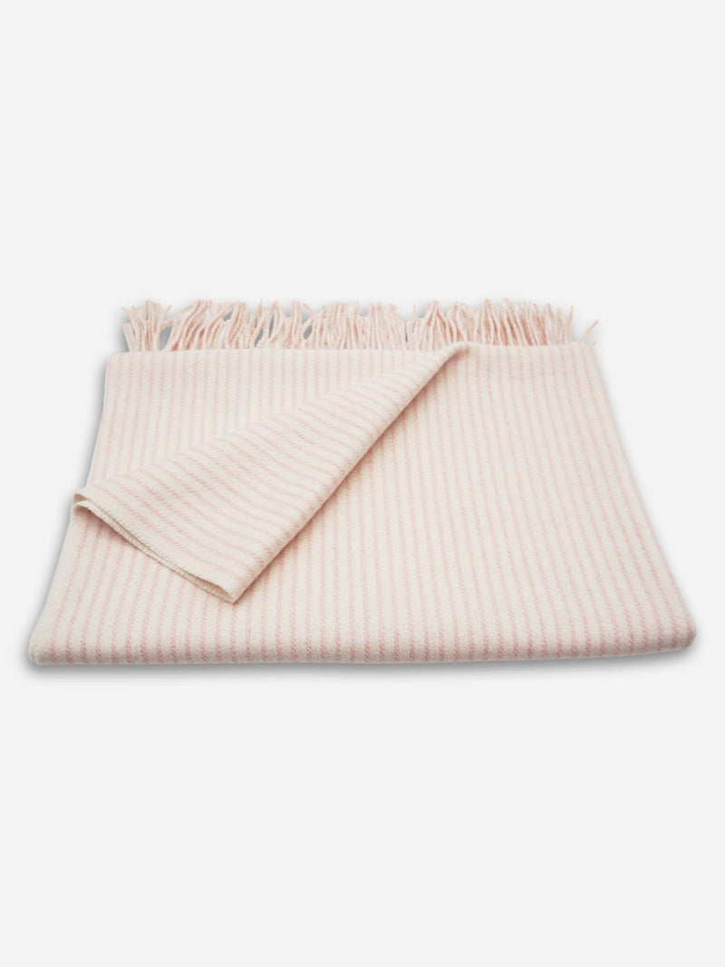 Cotton Candy Stripe - Unisex Baby Cozy Blanket - Unisex Baby Cozy Blanket