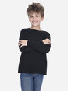 Black - Kids Soft Touch Crew-Neck Shirt - Kids Soft Touch Crew-Neck Shirt