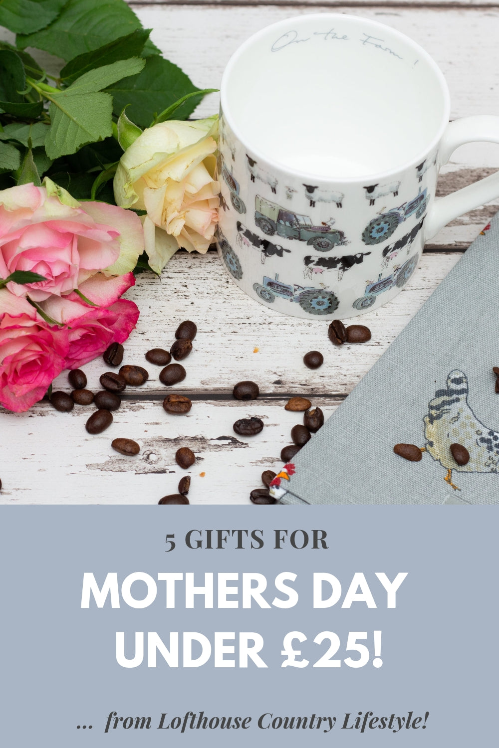 5 gifts for mothers day in march for less than £25