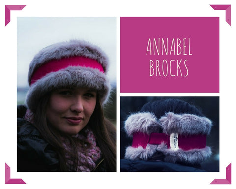 Annabel Brocks Headwarmer in Pink
