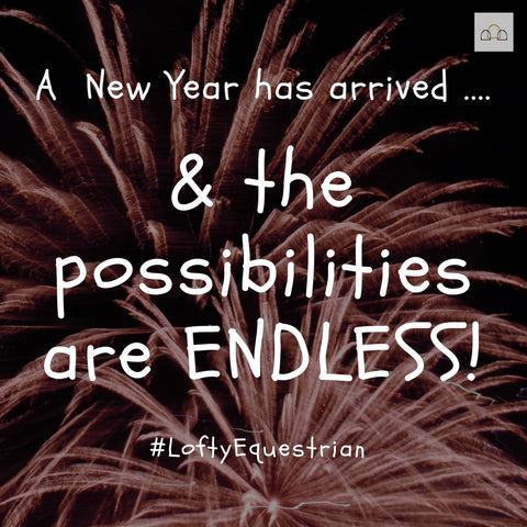 A new year has arrived and the possibilities are endless!