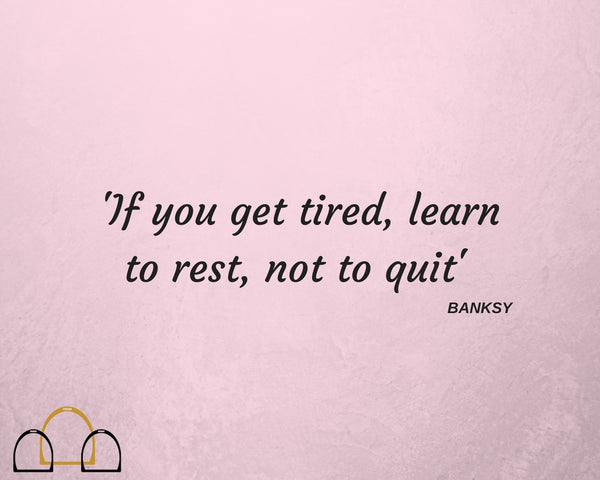 learn to rest not quit quote