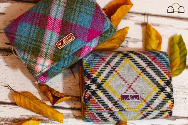 Buy well, buy once with a Ness Clancy Tartan Purse