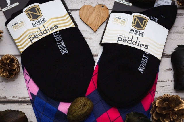 Noble Outfitters Printed Peddies Long Horse Riding Socks | The perfect gifts for horse lovers