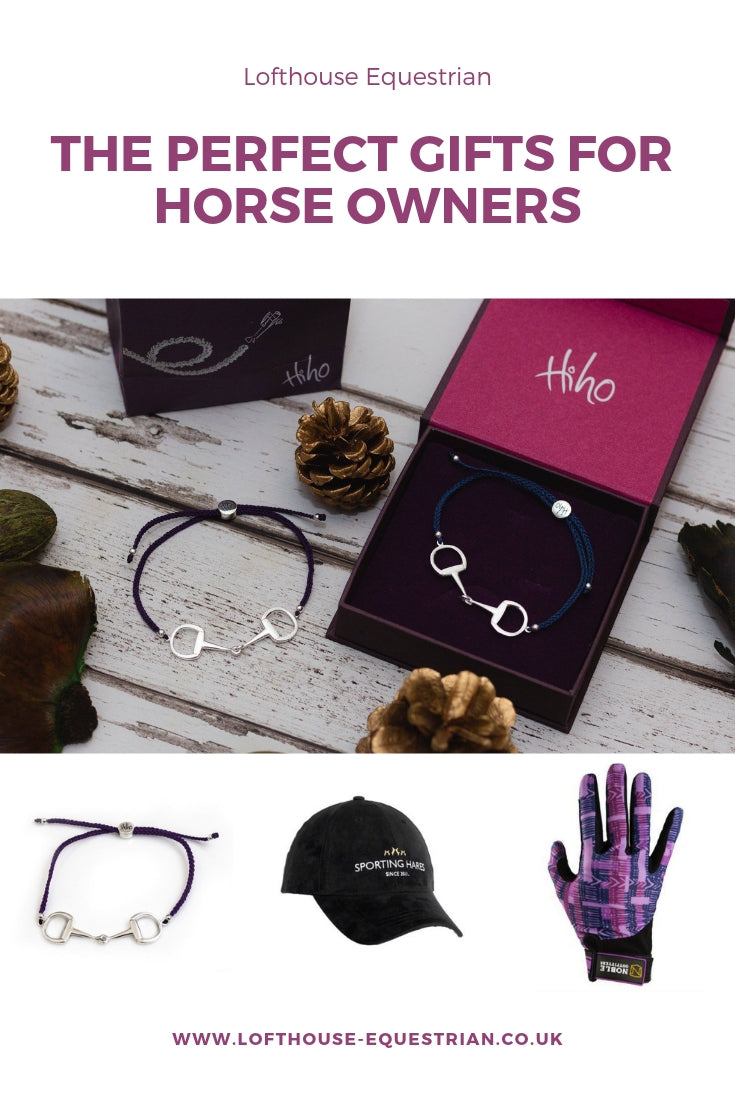 The perfect gifts for horse owners
