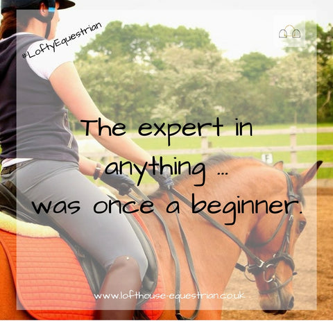 horse rider motivational quote