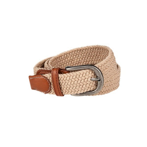 Baleno Clothing Ladies Pascal Stretchy Belt in Sand colour