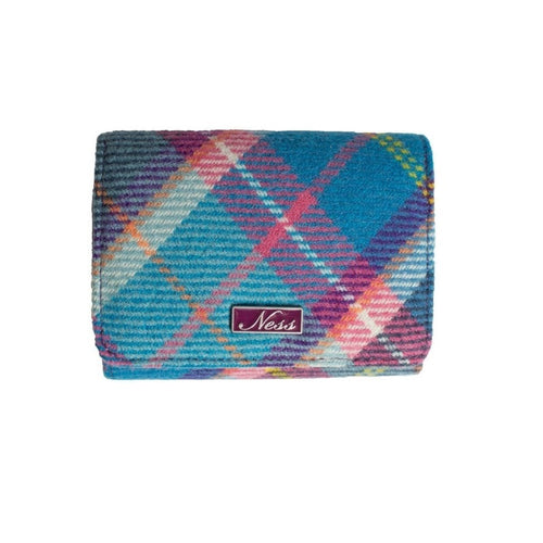 Ness Blue Check purse
