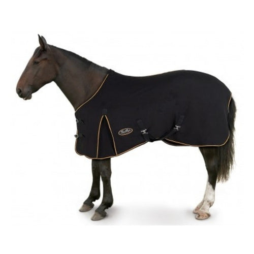 Gallop Equestrian Majestic Fleece Horse Rug in Black