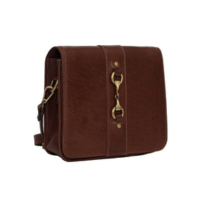 Grays Julia Side Bag in Brown Leather