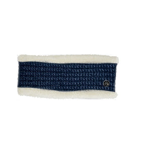 HyFASHION Avoriaz Metallic Headband in Navy