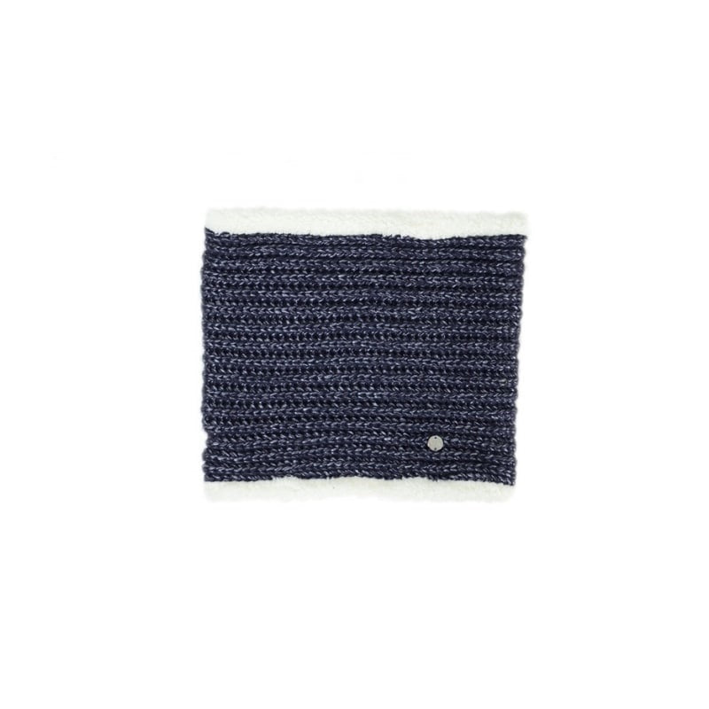 HyFASHION Avoriaz Metallic Snood in Navy