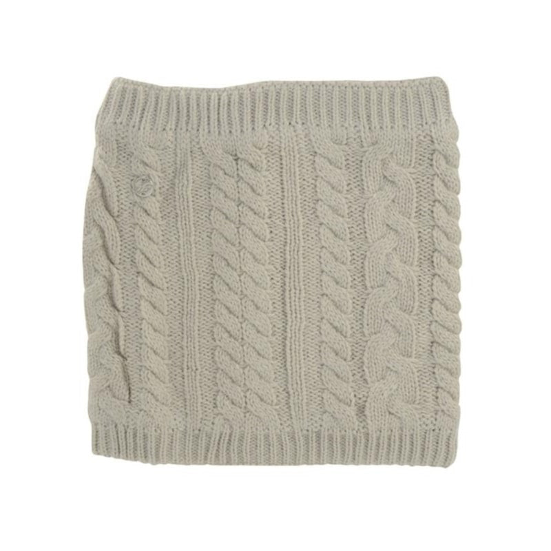 HyFASHION Meribel Cable Knit Snood in Oatmeal Cream