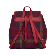 Ness Allness Perfect Tweed Rucksack in Morningside Oversized Check
