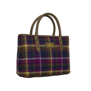 Ness Beauly Tweed Tote Bag in Old Town Classic Check