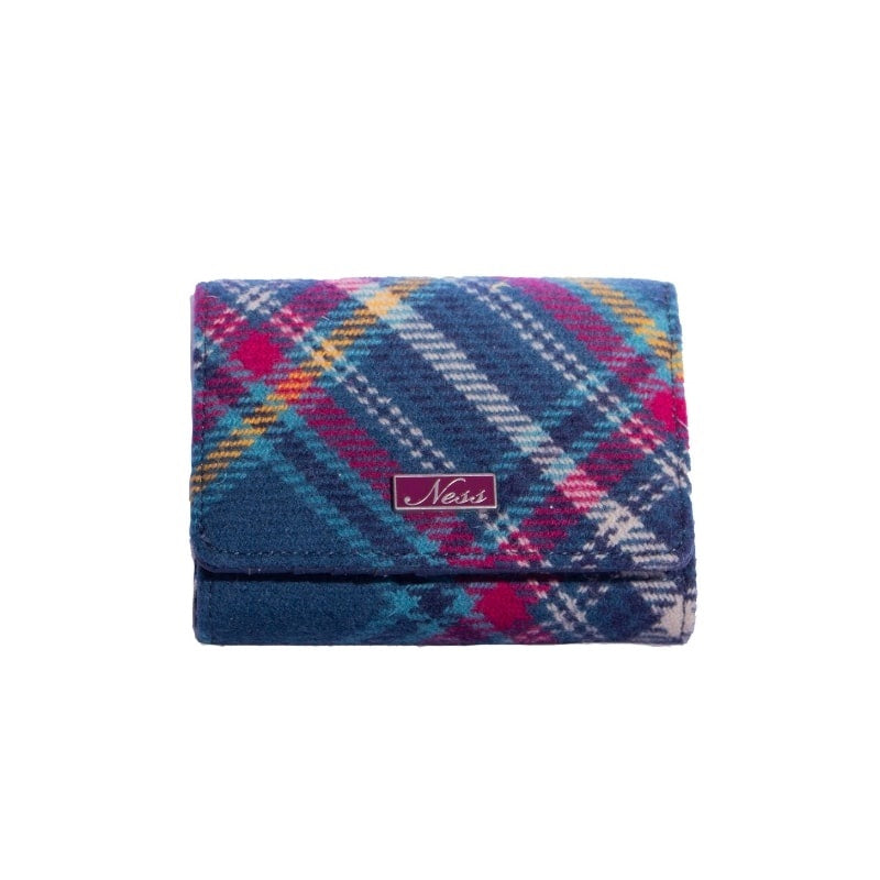 Ness Clancy Womens Purse in Newhaven Check Tartan