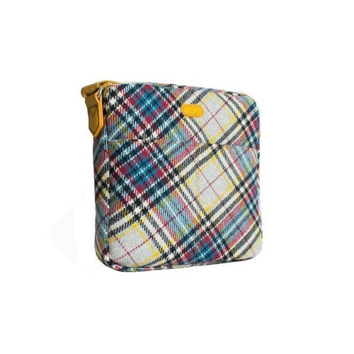 Ness Yellow check handbag