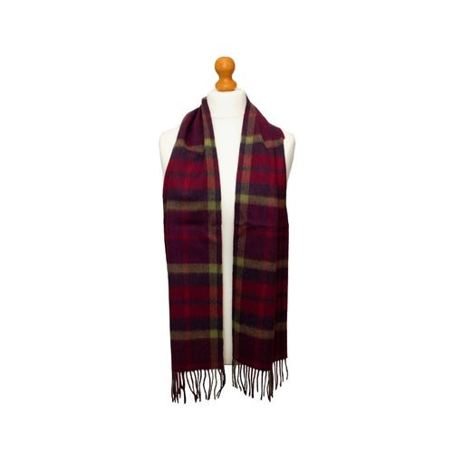 Kiltane of Scotland Lambswool Scarf in Morningside Oversized Check