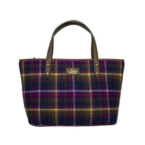 Ness Strathy Tweed Tote Bag in Old Town Classic Check