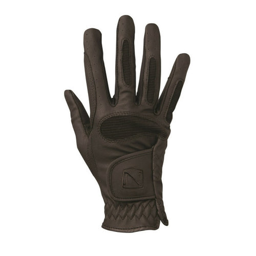 Horse riding gloves black