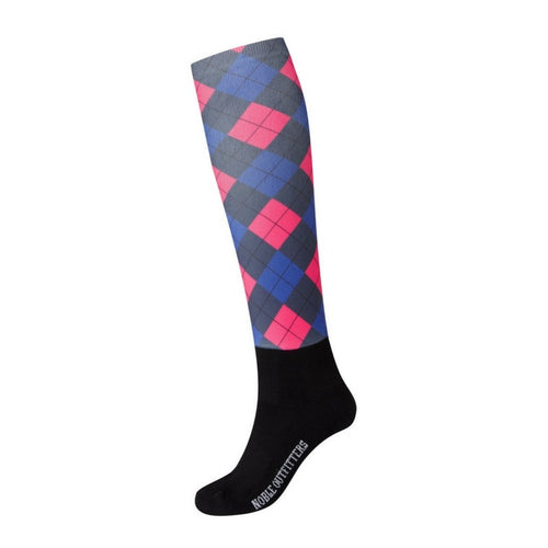 long horseback riding socks
