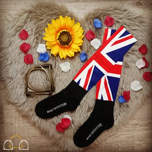 union jack patriotic socks