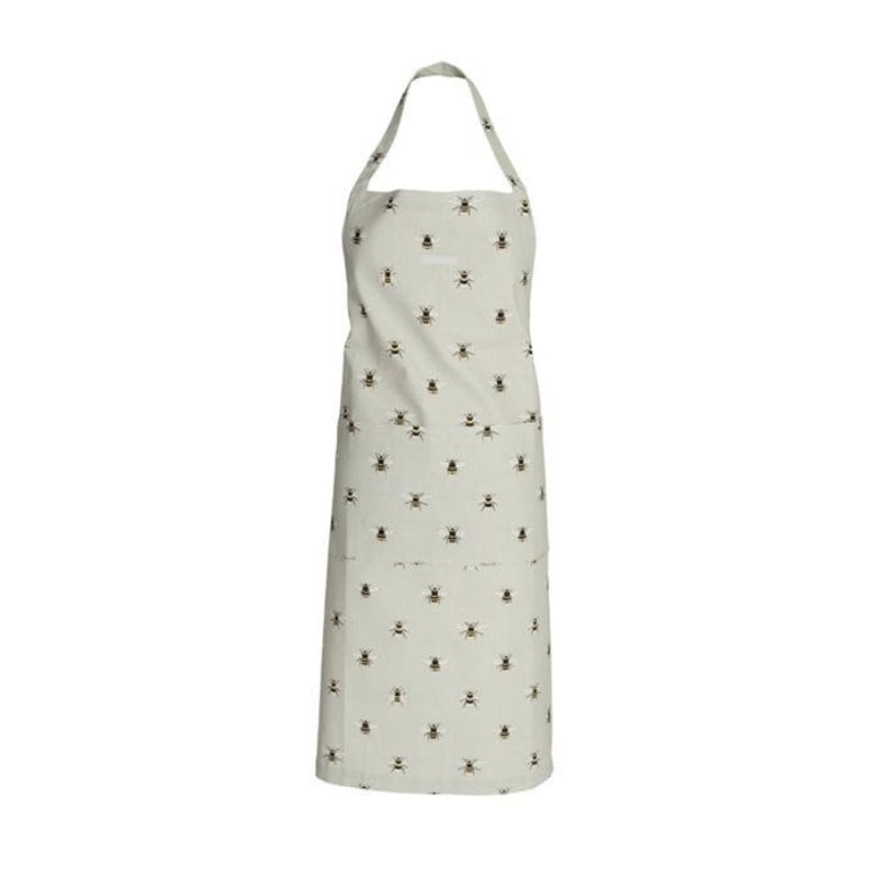 Sophie Allport Cooking Adult Apron in Bee Print